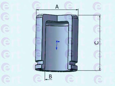 Поршень супорта  арт. 151027C