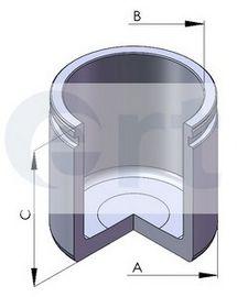 Поршень, корпус скобы тормоза D02580 (пр-во ERT)                                                     в интернет магазине www.partlider.com