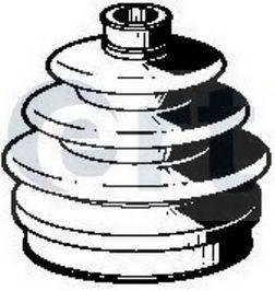 Пильник ШРУС гумовий + змазка  арт. 500359