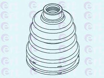 Пильник ШРУС гумовий + змазка  арт. 500430