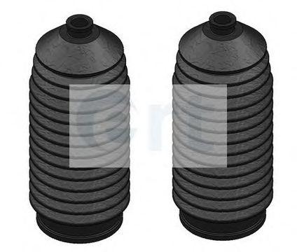 ERT FORD К-т пыльников рулевой рейки (2шт.) Sierra/Scorpio без ГУ 10*36*200 ERT 101790