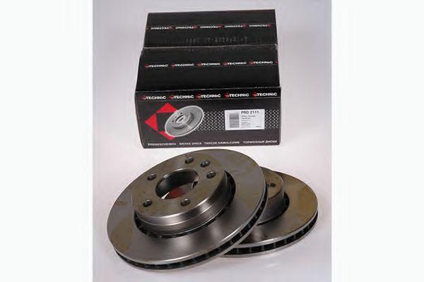 Диск гальмівний Opel Omega A 86-94 вент PROTECHNIC PRD2111