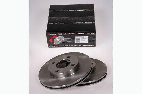 Диск гальмівний Audi 100 76- PROTECHNIC PRD2116