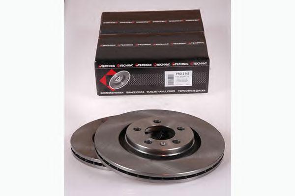 Диск гальмівний VW Golf IV /Bora 99-> PROTECHNIC PRD2142
