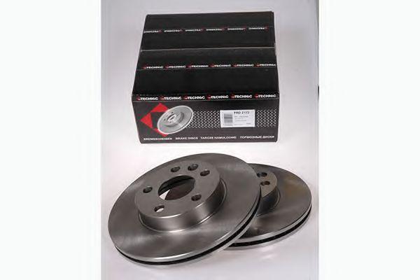 Диск гальмівний VW T4 96- вентил. PROTECHNIC PRD2173