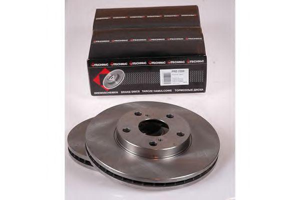 Диск гальмiвний переднiй Toyota Camry 3.0I 24V 91-  PROTECHNIC PRD2208