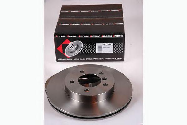 Тормозной диск  арт. PRD2267