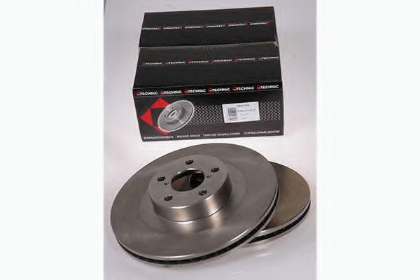 Диск гальмівний Subaru Impreza / Wagon 2,0 16V / WRX 00- (294 PROTECHNIC PRD2370