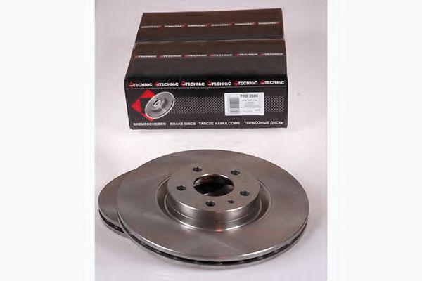 Тормозной диск  арт. PRD2389