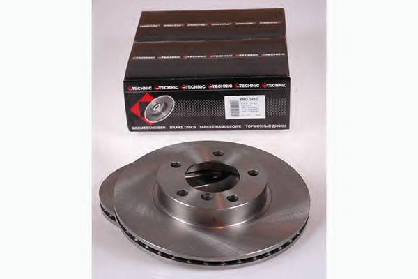 Диск гальмівний Bmw 3 E36 91-01 вентил. PROTECHNIC PRD2410