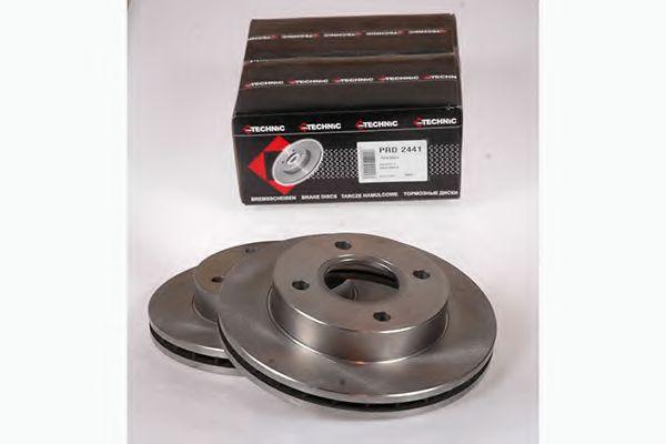 Диск гальмівний Ford Sierra 82-93 вент PROTECHNIC PRD2441