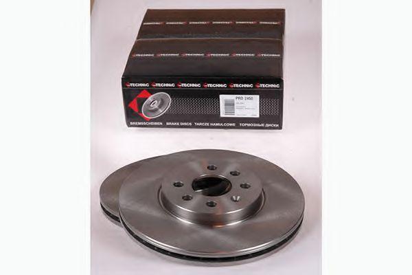 Диск гальмівний перед. Astra H Sedan / Kombi 3.04- (280x25mm) PROTECHNIC PRD2450