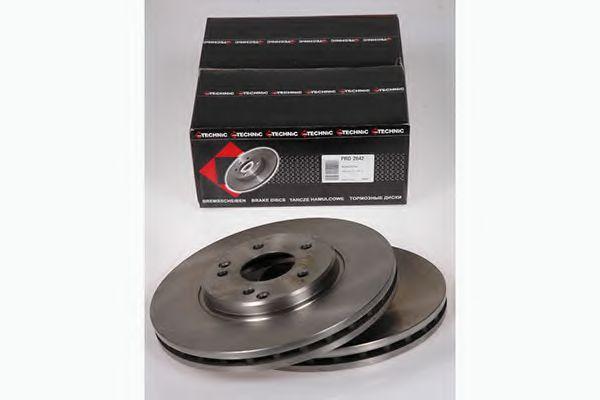 Диск гальмівний P DB C208,R170,W210 95- PROTECHNIC PRD2642