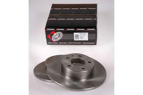 Тормозной диск  арт. PRD5228