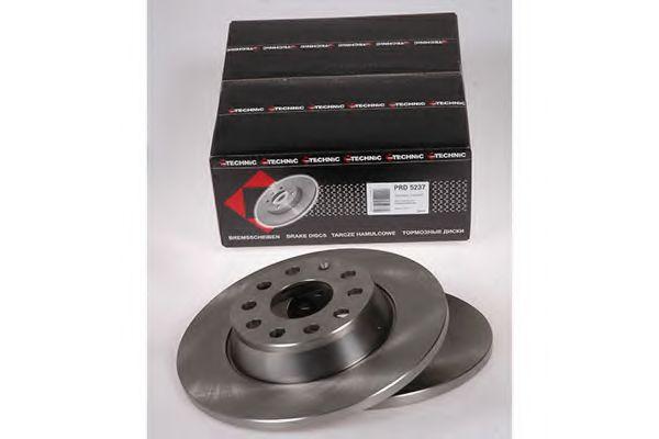 Диск гальмівний зад. Audi/Seat/Skoda/VW 02-> PROTECHNIC PRD5237