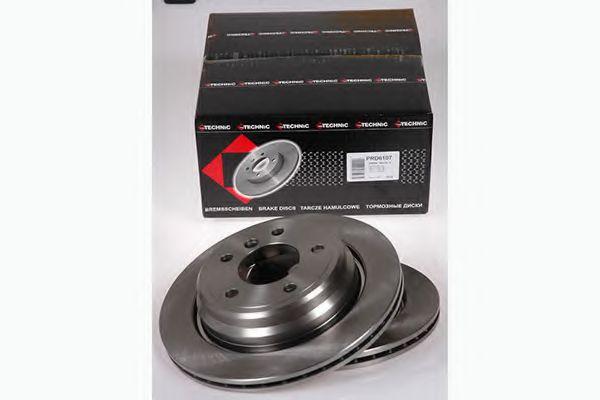 Диск гальмівний BMW 5er /E39 (96-03) (298X20X61.3) PROTECHNIC PRD6107
