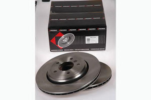 Диск гальмівний задн. BMW 3 (E46) 99- (320x22) PROTECHNIC PRD6138