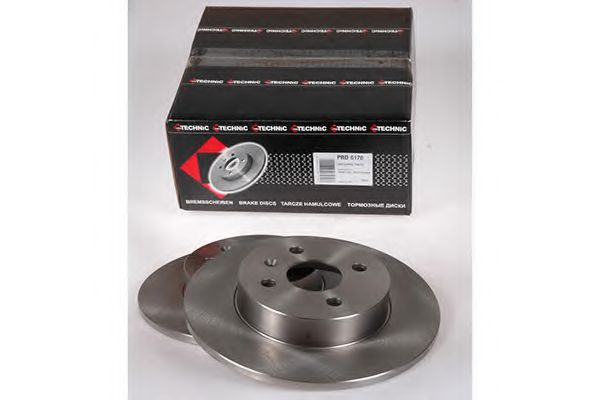 Диск гальмівний зад. 264x10x42.2 Opel Meriva 1.6I 16V, 1.7DTI/CDTI, 1.8 03.05- PROTECHNIC PRD6170