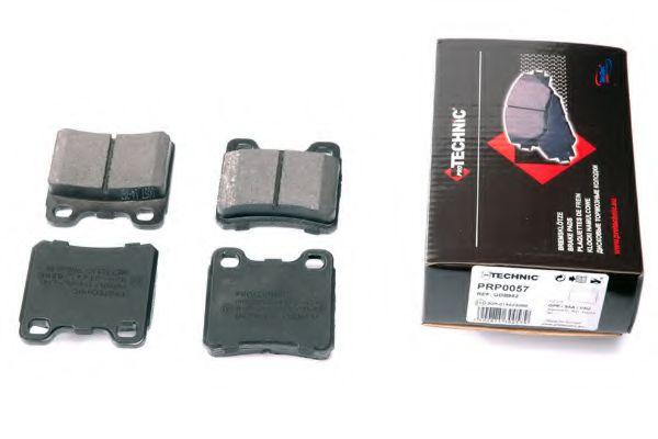Комплект тормозных колодок, дисковый тормоз  арт. PRP0057