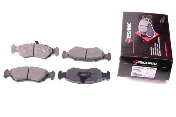 Комплект тормозных колодок, дисковый тормоз  арт. PRP0079