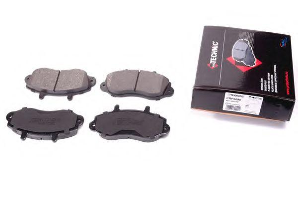 (R15)Гальмівні колодки дискові перед. Opel Movano 98-01 /Renault Master 98-01 PROTECHNIC PRP0099