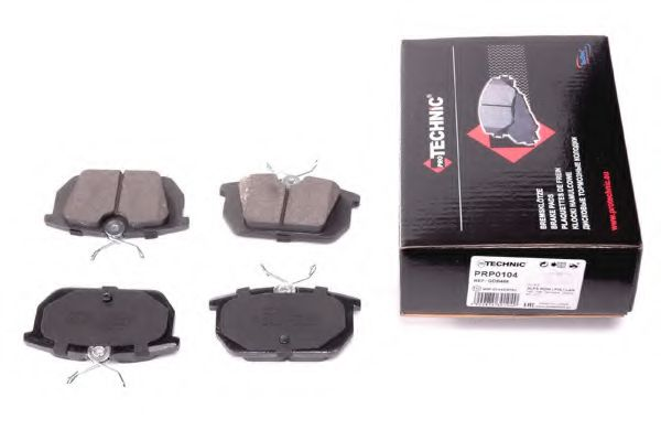 Комплект тормозных колодок, дисковый тормоз  арт. PRP0104