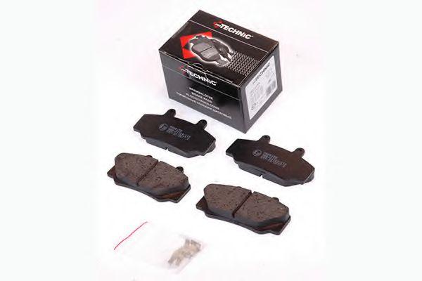 Колодки гальмiвнi передн. Volvo 740, 760, 780, 940, 960 PROTECHNIC PRP0159