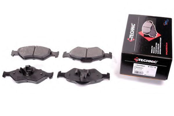 Комплект тормозных колодок, дисковый тормоз  арт. PRP0231