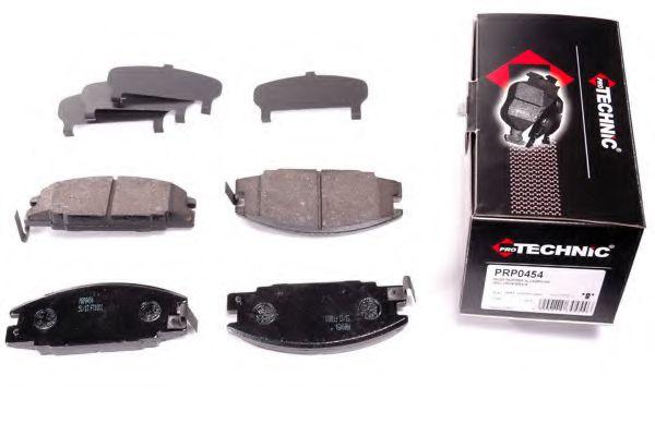 Комплект тормозных колодок, дисковый тормоз  арт. PRP0454
