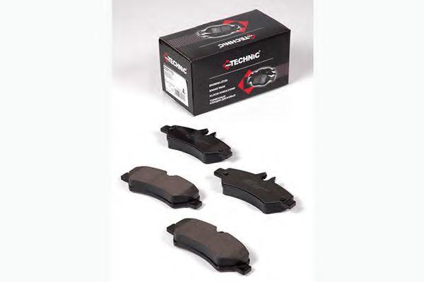 Гальмiвнi колодки дискові зад. DB Sprinter 3-t 04.06-> (Bosch) PROTECHNIC PRP1179