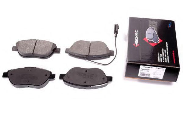 Комплект тормозных колодок, дисковый тормоз  арт. PRP0271