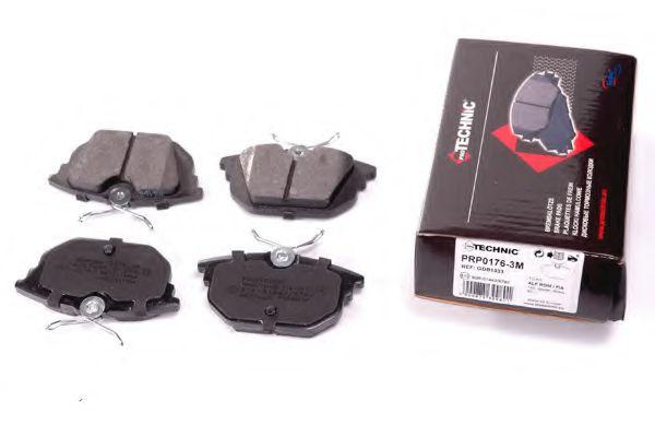 Комплект тормозных колодок  арт. PRP01763M