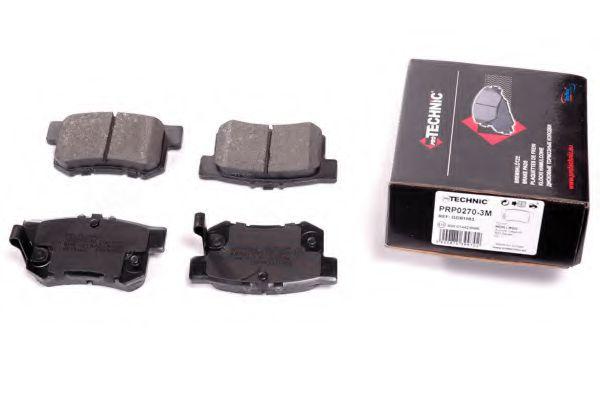 Гальмівні колодки дискові зад.Honda Accord 2.0 93-/Civic 1,6 95-/Legend 91-  арт. PRP02703M