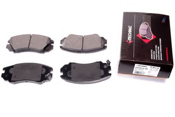 Гальмівні колодки дискові перед. Hynday Tucson 01-/Sonata 04-/Elantra 06-11  арт. PRP05193M