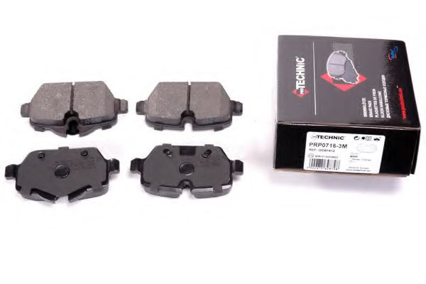 Гальмівні колодки диск.задні BMW 1 (E81), 3 (E90) 1.6i/1.8i/2.0 03-  арт. PRP07163M
