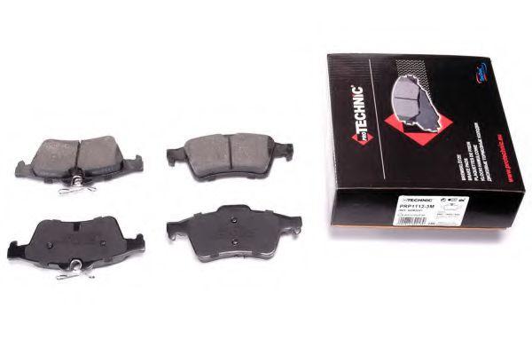 Гальмівні колодки дискові зад. Ford Focus C-Max, Kuga II Mazda 3, 5 Opel Signum/ Vectra С 1.0-3.2Cdti 10.03-12.12  арт. PRP11123M