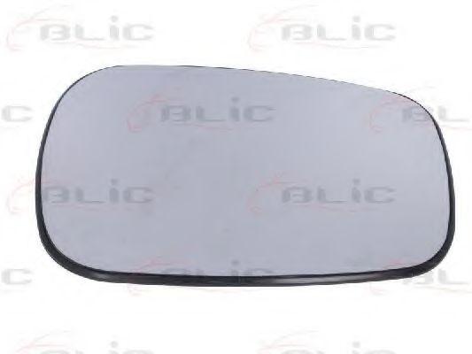 Скло дзеркала сферичне Renault Megane 1,4-2,0, 99-04 BLIC 6102021293172P
