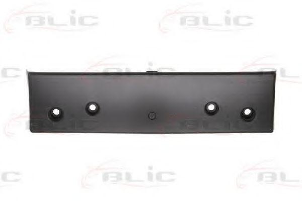 Крепление номерного знака Элементы бампера BLIC арт. 6509013719920P