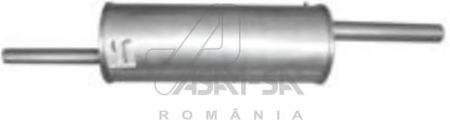 ASAM RENAULT Глушитель основной Logan 1.4/1.6 ASAM 01344