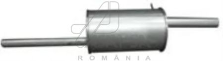 ASAM RENAULT Глушитель основной Logan 1.5dCi ASAM 01345
