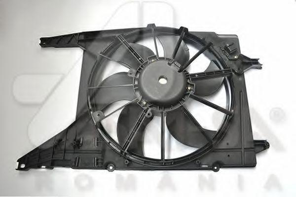 ASAM RENAULT Вентилятор радиатора с дифузором (с AC) Sandero,Logan,Duster 1.2/1. ASAM 32001