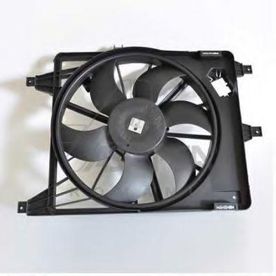 ASAM RENAULT Вентилятор радиатора (с AC) Sandero,Logan 1.4/1.6 ASAM 30445