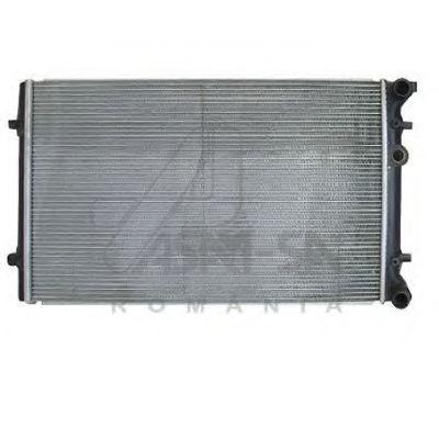 ASAM DAEWOO Радиатор охлаждения Matiz ASAM 55178