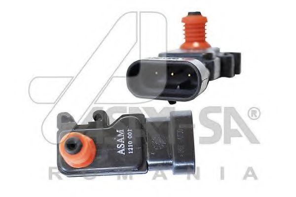 Датчик абсолютного давления Датчик ABSолютного давления в впуск коллект 1.4/1.6 8V (30749) ASAM ASAM арт. 30749