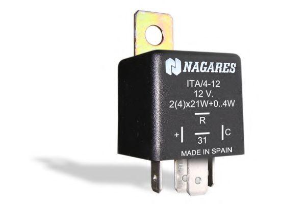 Реле указателя поворотов Прерыватель указателей поворота NAGARES арт. ITA412