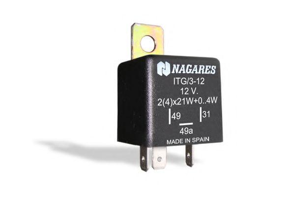 Реле указателя поворотов Прерыватель указателей поворота NAGARES арт. ITG312