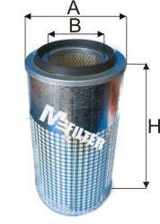 Фильтр воздушный J.C.B., KOMATSU, VOLVO Constr. (пр-во M-Filter)                                     HENGSTFILTER арт. A829