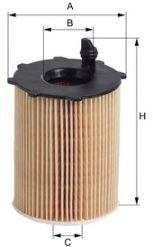 Фильтр масляный Citroen, Peugeot (пр-во M-filter)                                                     арт. TE617
