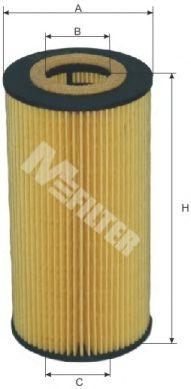 Фильтр масляный BMW 325TD,525TDS,725TDS (пр-во M-filter)                                              арт. TE623