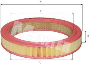 Фильтр воздушный MAZDA 626 (пр-во M-filter)                                                           арт. A110